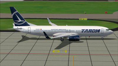 Tarom Boeing 737-800.