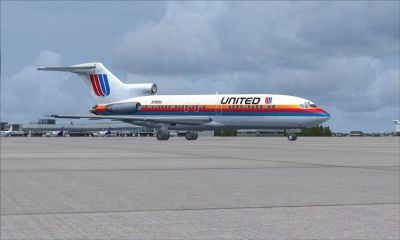 Late 1970''s United Airlines Boeing 727-100/-200ADV.