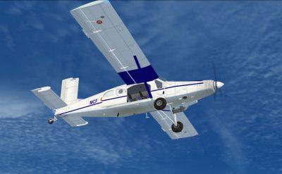 ALAT Pilatus PC-6C in flight.