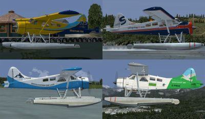 Four BC Coastal Beaver Repaints.