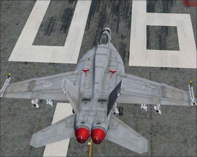 CAF F/A-18 on runway.