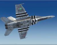 CAF/RCAF F/A-18 441 Sqn in flight.
