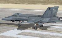 CF-18 440 Sqn on runway.