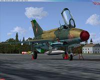 HUNAF 301 MiG-21 F-13.