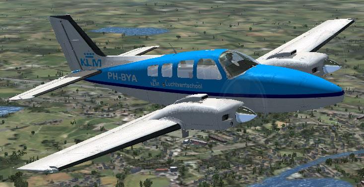 Fsx Klm Flight School Beechcraft Baron 58 on New Classic Interior Design
