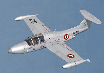 MS760 Paris N°32 Armor Aero Passion 2003 in flight.