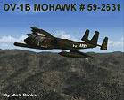 OV-1B Mohawk #59-2631 in flight.