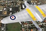 RAAF DeHavilland Vampire A79-16.