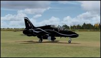 RAF 2001 Display Hawk.
