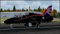 RAF 2004 Hawk on runway.