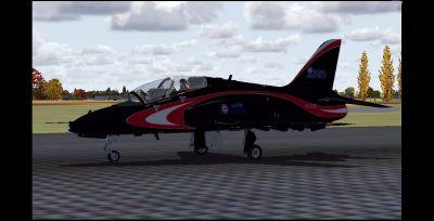 RAF Hawk T1A.