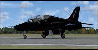 RAF Mk1 Hawk on runway.