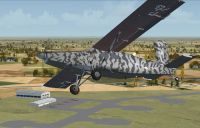 RNLA Pilatus PC-6C H2 in flight.