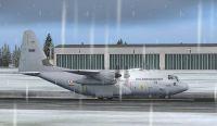 RNoAF Lockheed C-130J on runway.