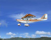 FR Savannah in flight.