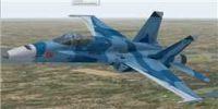 US Navy F/A-18C Fighting Omars in flight.