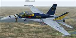 US Navy F/A-18C Vigilantes in flight.