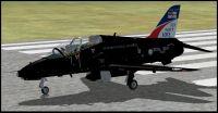 US Navy Mk1 Hawk on runway.
