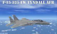 USAF F-15 Strike Eagle in flight.