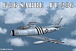 USAF F-86 Sabre FU-236 in flight.