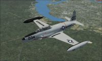 USMC TO-2/TV-2/T-33B in flight.