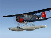 Army DHC-2 Beaver in flight.