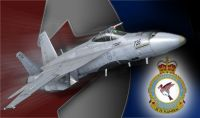 "Canadian Air Force F/A-18 425 ""Alouettes""."