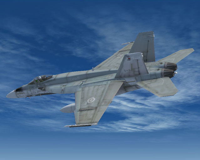 Canadian Air Force/RCAF CF-18 Squadrons for FSX