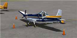 CeraSim Cessna 188 Ag Wagon/Truck.