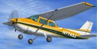 Cessna 172SP Skyhawk in flight.