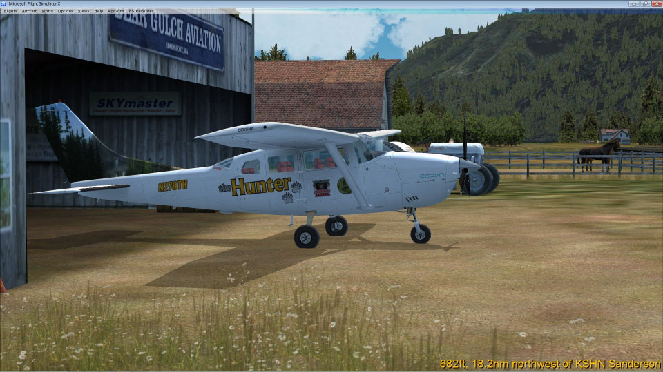 Carenado Cessna 206 Cessna C-206 'thehunter'