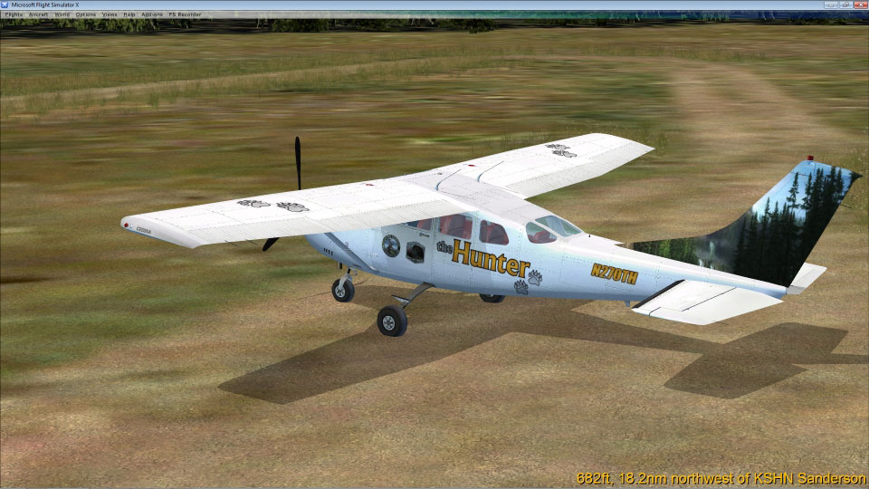 Cessna C-206 'theHunter' for FSX