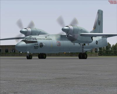Croatia Air Force Antonov An-32.