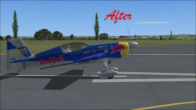 (After) Default Extra 300 on runway.