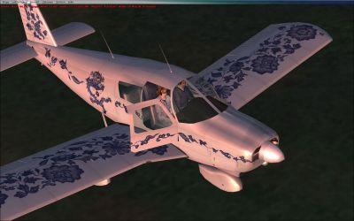 Default Piper Cherokee.
