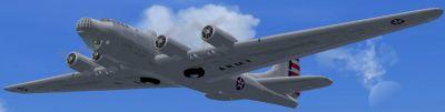 Douglas XB-19 in flight.