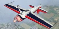 "Extra 300S ""The Patriot"" in flight."