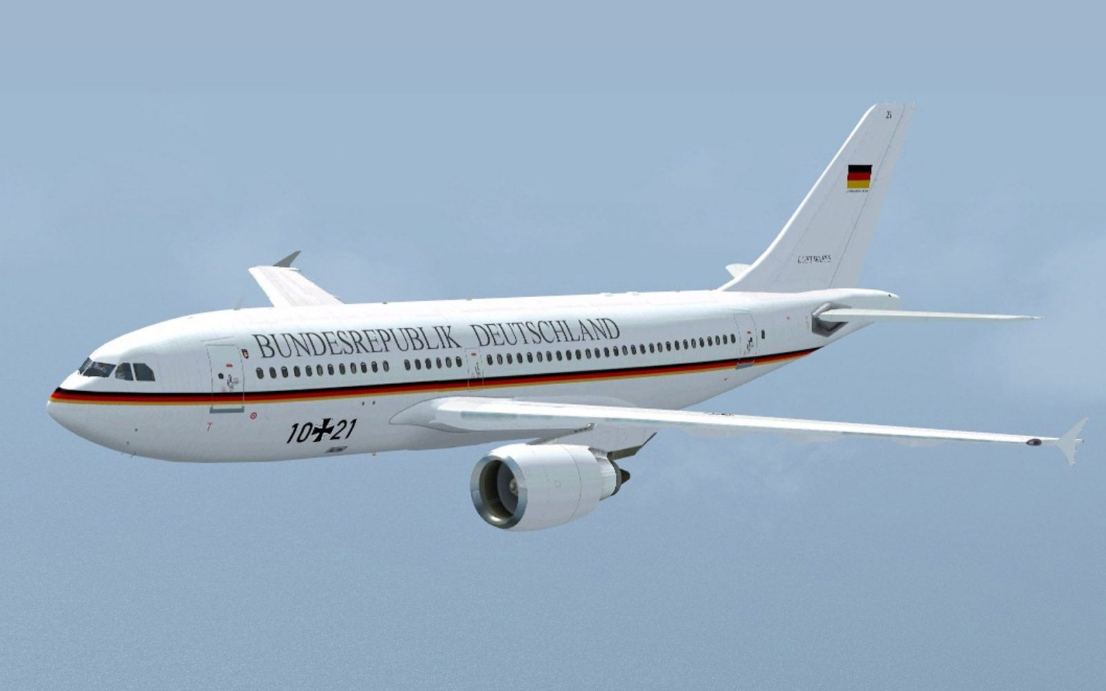 German Luftwaffe Airbus A310-300 for FSX