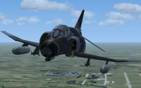 Greece Air Force F-4F Phantom in flight.