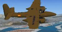 Grumman F7F in flight.