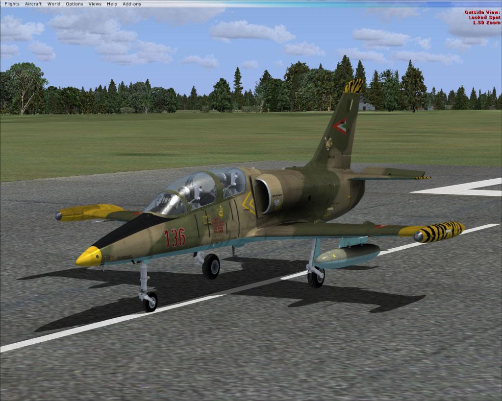 Hungarian Air Force Aero L-39 Albatros for FSX