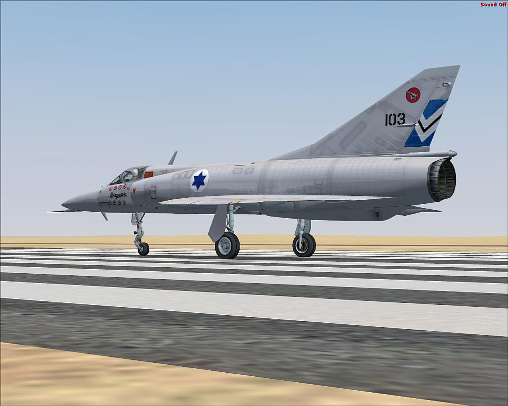 Israeli Air Force Mirage III for FSX