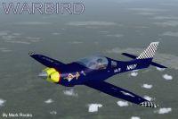Lancair IV Turboprop Warbird in flight.