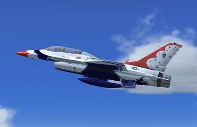 Lockheed Martin F-16 Thunderbird for FSX