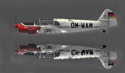 Messerschmitt Bf 108 Taifun DM-WAM.