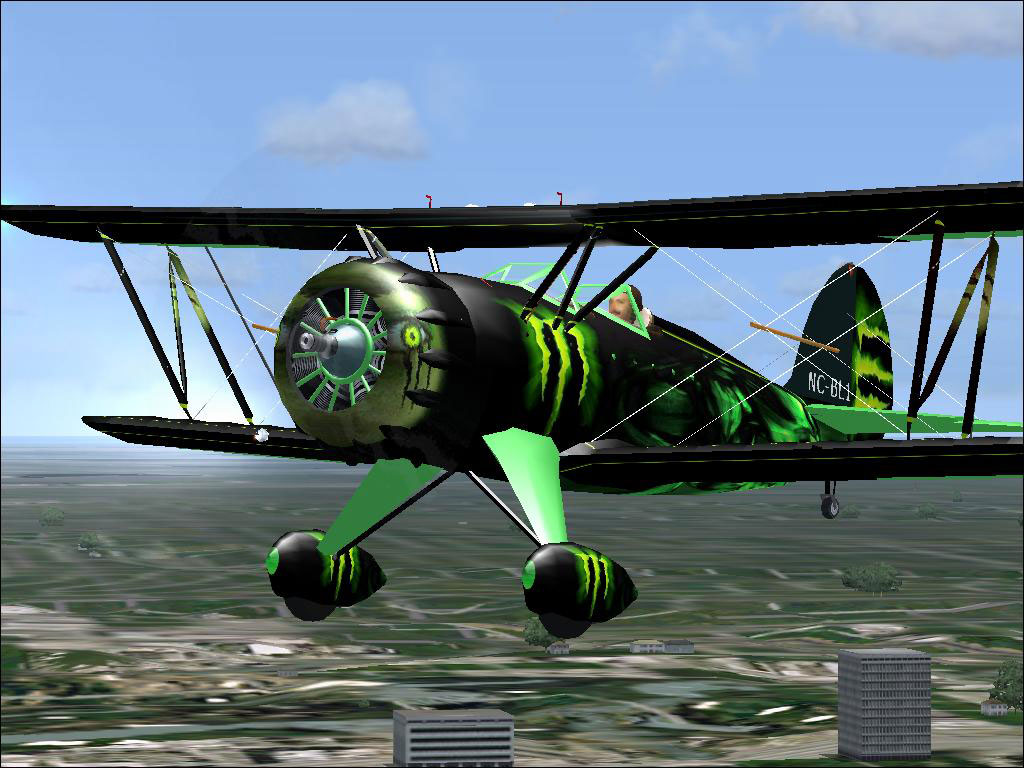 FSX Monster Energy Drink Waco - Downloads