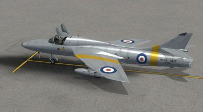 Royal Navy Hawker Hunter T8 RN.