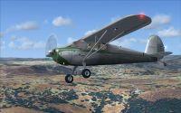 Exterior of SimFlight3D 1947 C-140 (Tail Dragger).