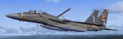 Spanish Tornado GR4 in flight.