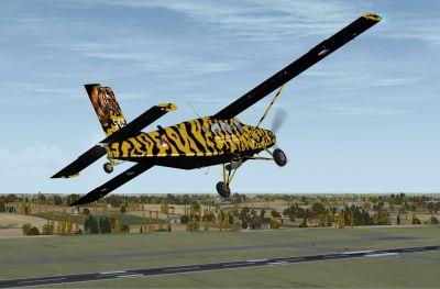 KLU PC-6C NATO Tiger Meet 2010 in flight.